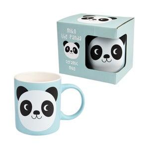 Modrý keramický hrnek Rex London Miko The Panda, 350 ml