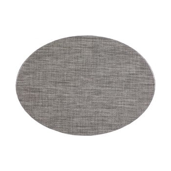 Suport pentru farfurie Tiseco Home Studio Oval, 46 x 33 cm, gri de la Tiseco Home Studio