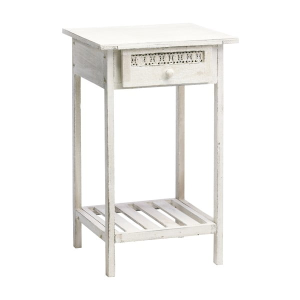 Konzolový stolek Antique, bílý