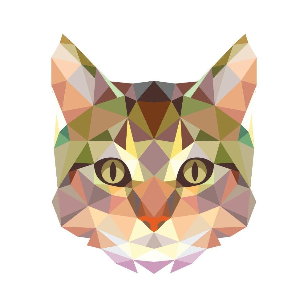 Samolepka Fanastick Ambiance Origami Cat