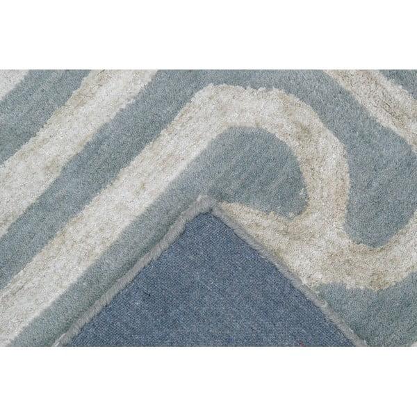 Koberec Twist Blue Beige, 153x244 cm