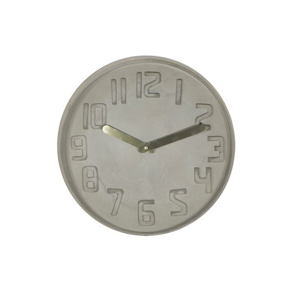 Hodiny Fisura Concrete, 35 cm