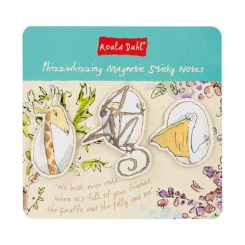 Set notițe adezive cu panou magnetic Roald Dahl by Portico Designs de la Portico Designs
