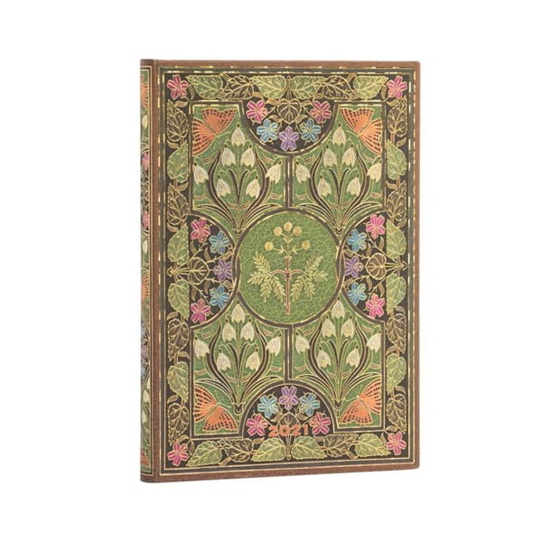 Kalendarz na rok 2021 Paperblanks Poetry in Bloom