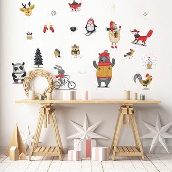 Autocolant Crăciun Ambiance Christmas Animals
