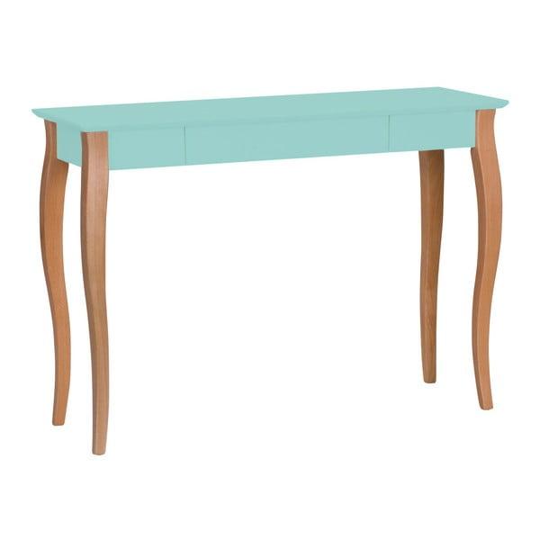 Světle tyrkysový psací stůl Ragaba Lillo, šířka105cm