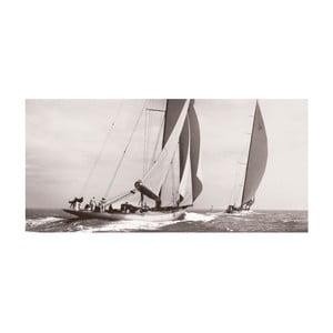 Obraz na plátně Na širém moři, 100x50 cm