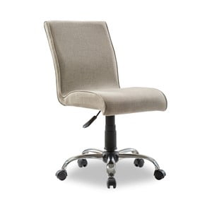 Béžová židle na kolečkách Soft Chair Beige