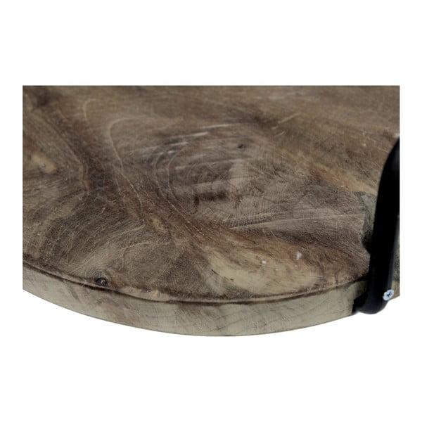 Podnos z teakovového dřeva s úchyty HSM collection