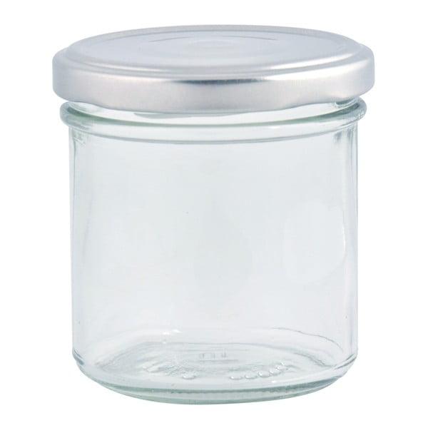 Sada 8 zavařovacích sklenic v bedýnce Esschert Design Garden, 230ml