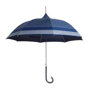Modrý deštník Ambiance La Mar, ⌀90cm