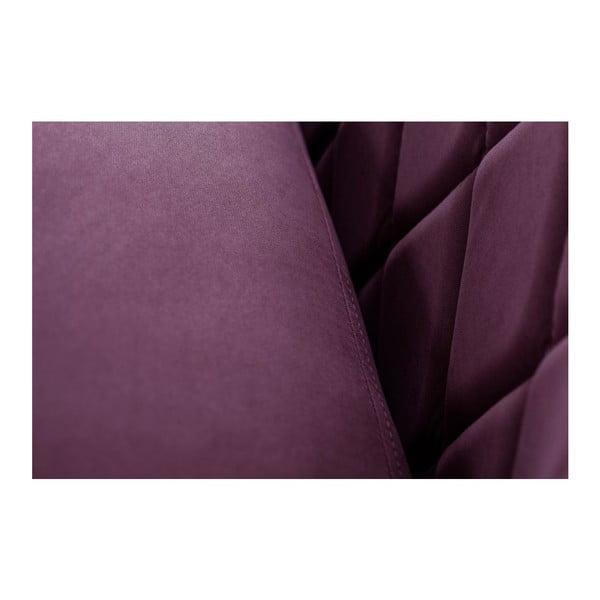 Dvoumístná pohovka Diva Criss Cross Purple