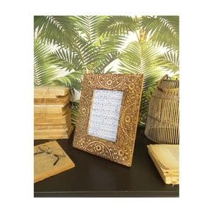Sada 2 rámečků z mangového dřeva Orchidea Milano Mandala, výška 26 cm