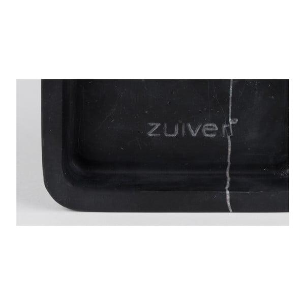 Černé nástěnné mramorové hodiny Zuiver Luxury Time