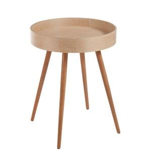 Příruční stolek J-Line Wood Nat