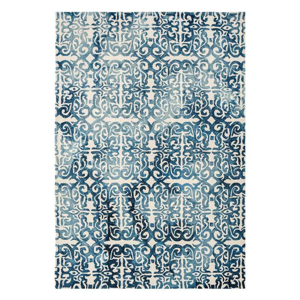 Modrý koberec Asiatic Carpets Fresco, 120 x 170 cm