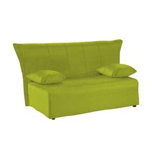 Canapea extensibilă cu 3 locuri 13Casa Cedro, verde