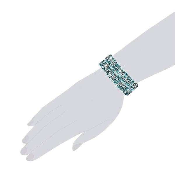 Náramek Aqua Shine, 34 cm