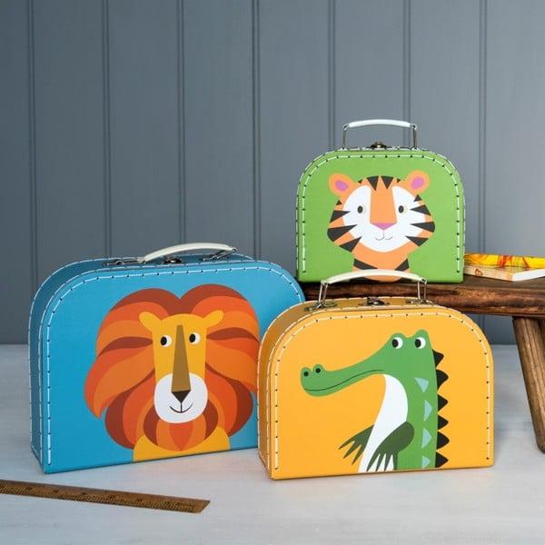 Set 3 valize pentru copii Rex London Colourful Creatures