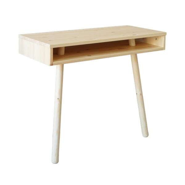 Capo Natural borovi fenyőfa tárolóasztal - Karup Design