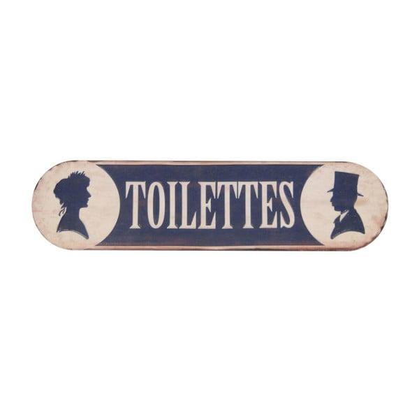 Ceduľa na dvere Antic Line Toilettes Fer