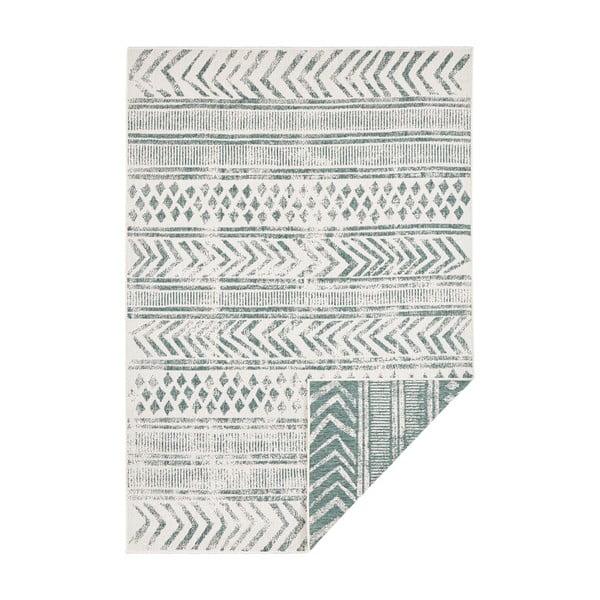 Zeleno-krémový venkovní koberec Bougari Biri, 200 x 290 cm