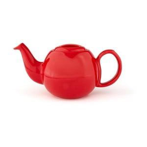 Červená konvice se sítkem na sypaný čaj Bredemeijer Cosette, 900ml