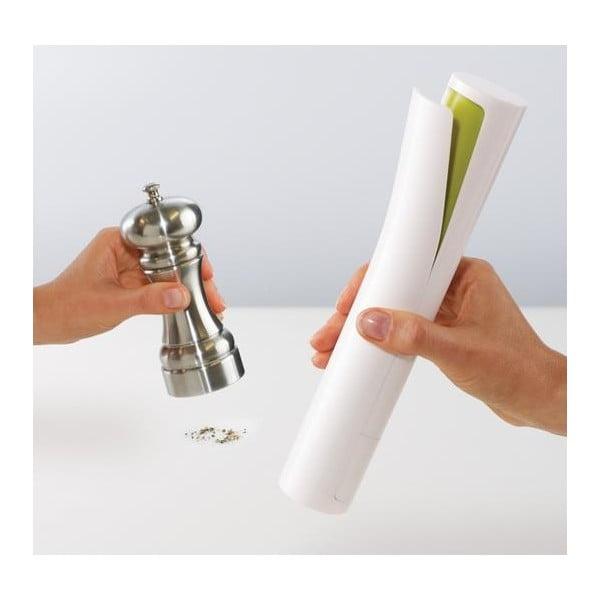 Elektrický mlýnek na pepř a sůl, zelený