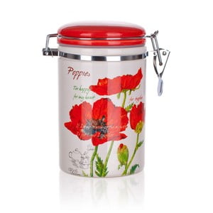 Dóza Red Poppies, 750 ml