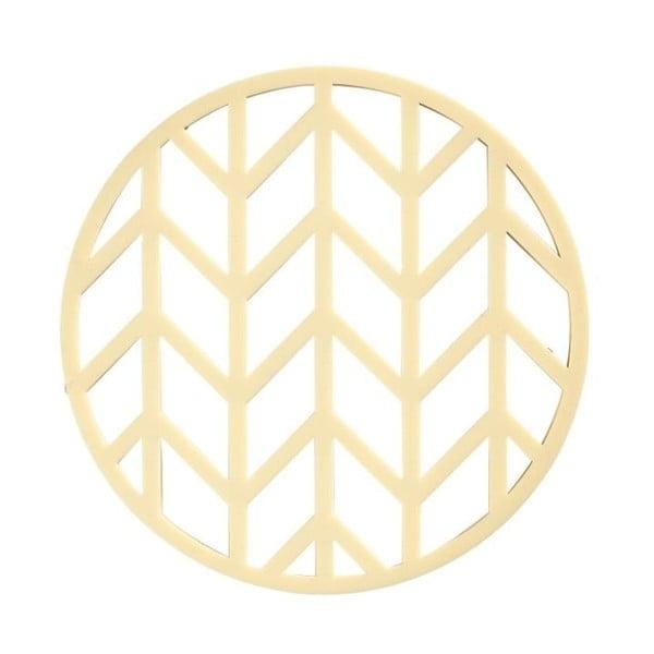 Crop sárga szilikon edényalátét, ⌀ 14,5 cm - Zone