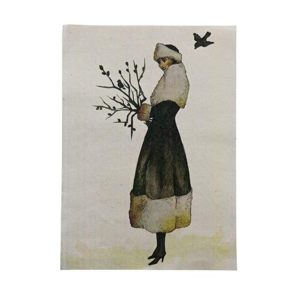 Wintertime plakát, 47 x 32 cm - BePureHome