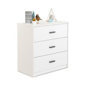 Bílá komoda White Dresser Puro