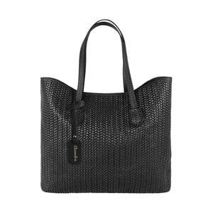 Černá kožená kabelka Maison Bag Ginnie