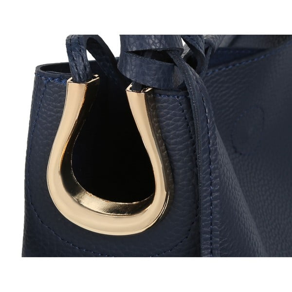 Geantă din piele ecologică Beverly Hills Polo Club Rita, albastru închis