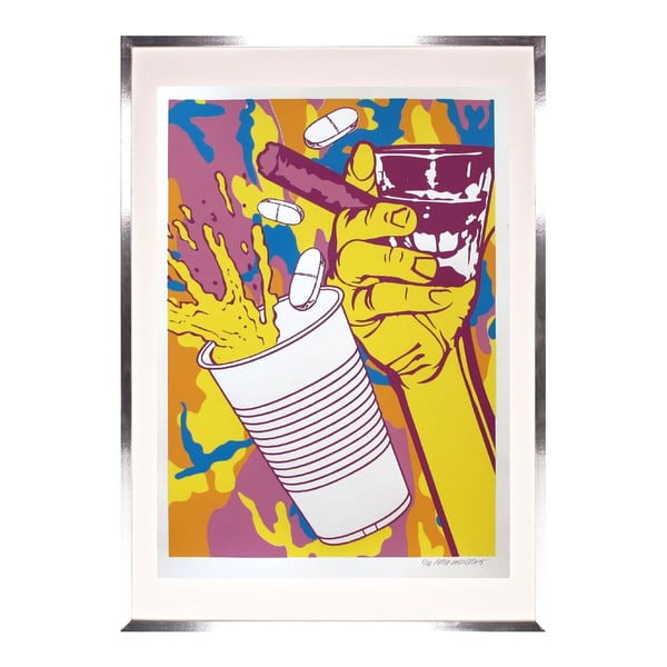 Drink and Cigar (yellow) by Pasta Oner
