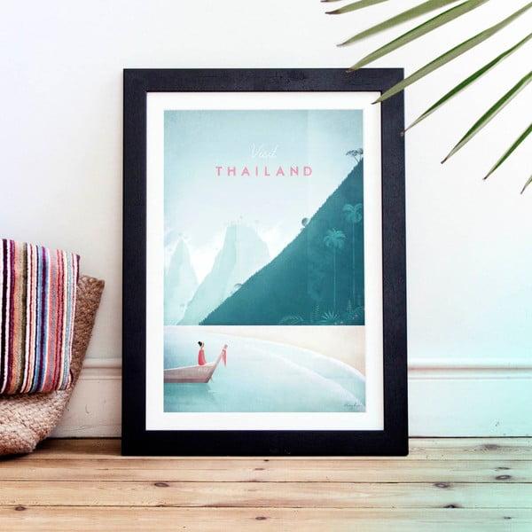 Plakát Travelposter Thailand, A3
