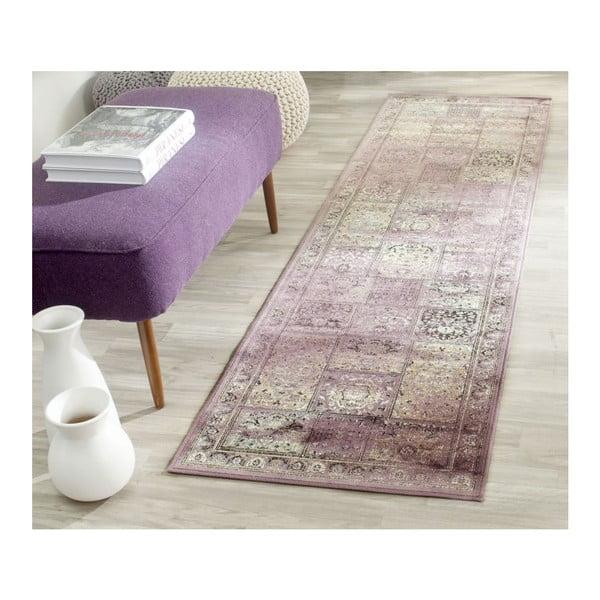 Koberec Suri Vintage Purple, 66x243 cm