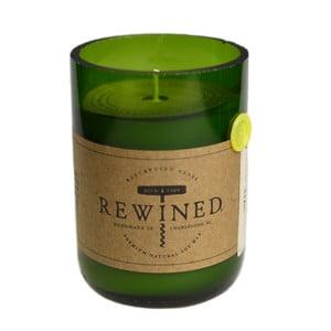 Lumânare Rewined Candles Pinot Grigio, 80 ore