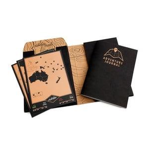 Sada pro cestovatele Adventure Journal