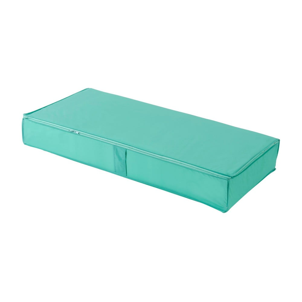 Zelený úložný box pod postel Compactor Pina, 100 x 48 cm