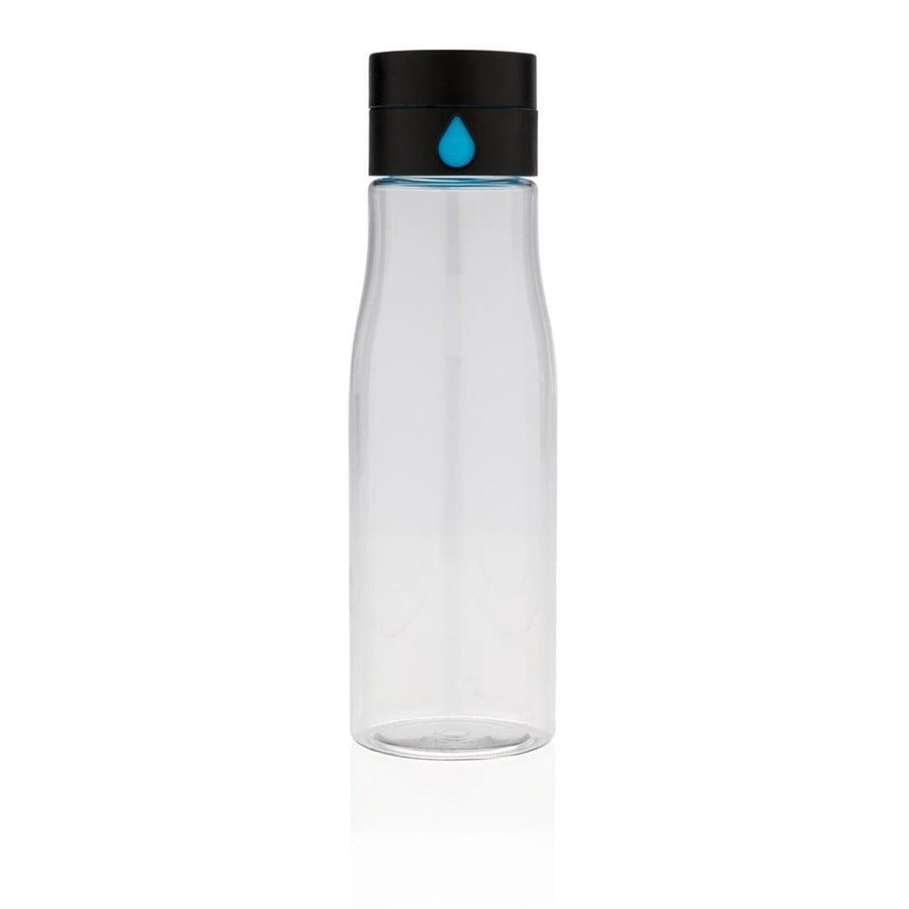 Průhledná cestovní láhev XD Design Aqualicious, 600 ml
