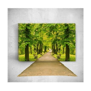 Nástěnný 3D obraz Mosticx Park Road, 40 x 60 cm