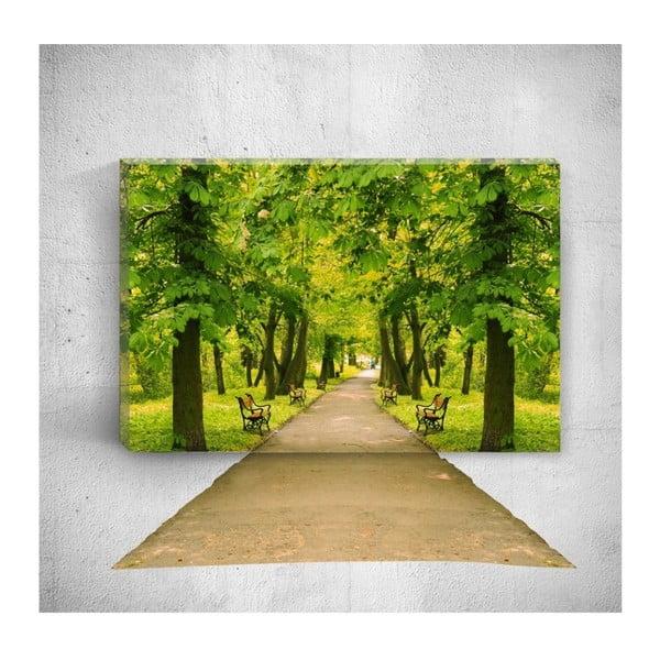 Park Road 3D fali kép, 40 x 60 cm - Mosticx