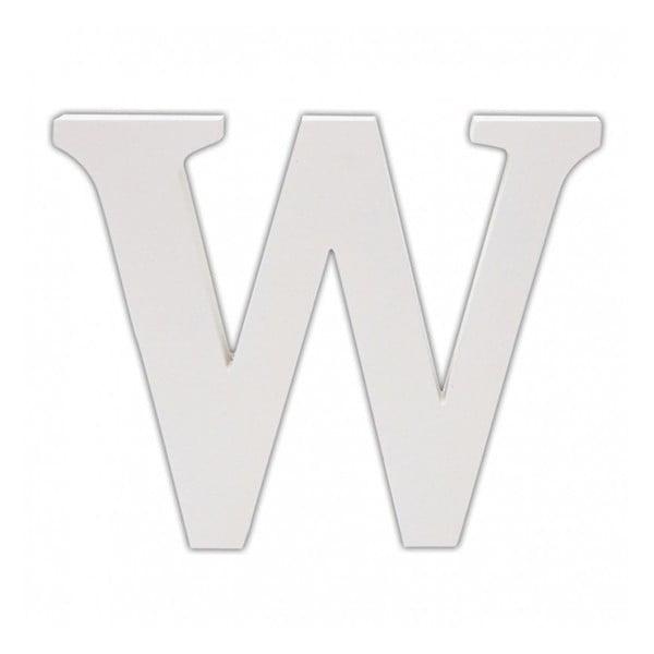 Dřevěné písmeno W
