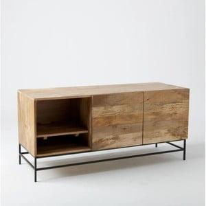 TV komoda z masivního mangového dřeva Massive Home Jenny, 130 x 60 cm