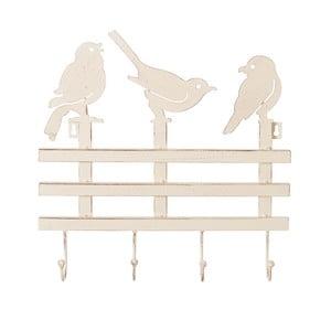 Věšák se 4 háčky Ixia Birds