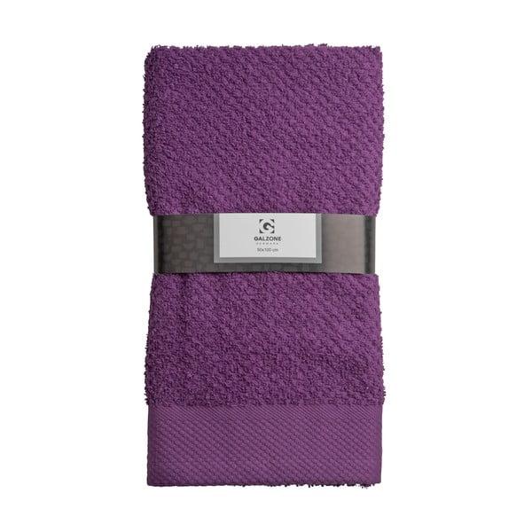 Osuška Galzone 100x50 cm, fialová