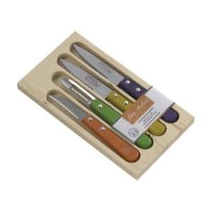 Sada 3 kuchyňských nástrojů v úložném boxu Jean Dubost Rainbow