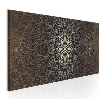 Tablou pe pânză Bimago Intricate Beauty, 50x150cm de la Bimago
