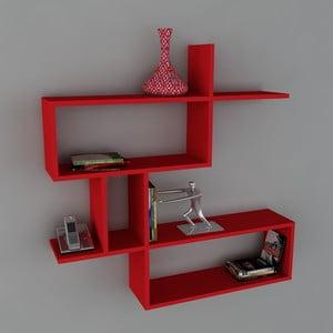 Police Montera Book Red, 22x100x107,2 cm